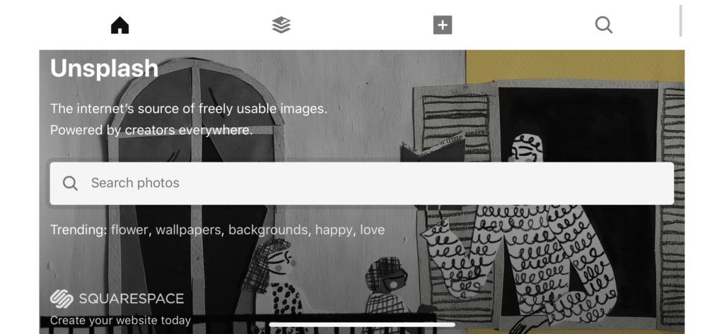 ブログに使えるフリー画像サイト③:Unsplash